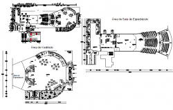 Ground floor to top floor plan detail dwg file