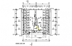 Ground floor toilet plan detail dwg file