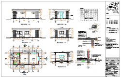 Guard House Design DWG file