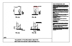 HAZARDS & PROTRUDING OBJECTS design drawing