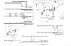 Handrails design and 2d detail
