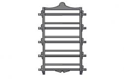 Hanging spice rack 3d file