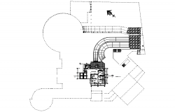Healthcentre layout in dwg file