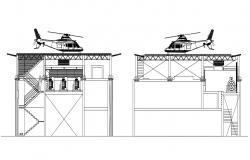 Helicopter Parking Design