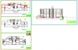 Here the cloacal (cavity) installation of building design drawing