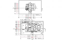 Heritage house plan autocad file
