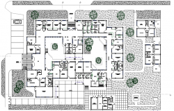 High Complexity Health Center Layout plan