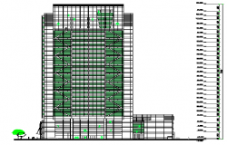 High Rise Building Elevation