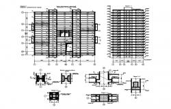 High Rise Office Building CAD Design