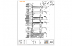 Highrise  building section--technical details