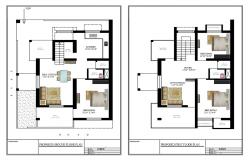 Home Layout Plan DWG File