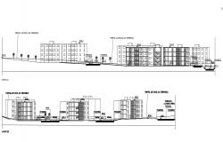 Home Section CAD Drawing