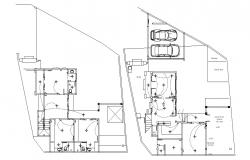 Home Wiring Layout Plan AutoCAD Drawing