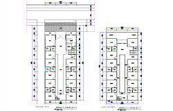 Home building plan dwg file