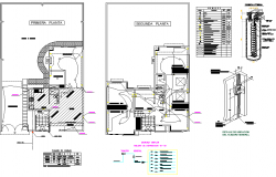 Home electrical plan autocad file