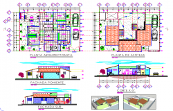 Home plan detail layout file