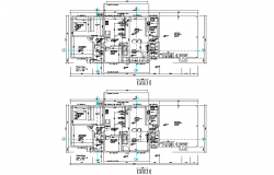Home planning autocad file