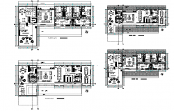 Home planning detail autocad file