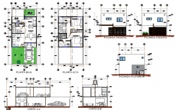 Home remodeling room plan autocad file