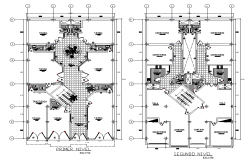 Home trade building  layout plan