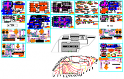 Hospital--designstudy dwg file