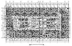 Hospital Building Electrical Layout Plan CAD File