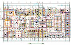 Hospital Lighting System Layout Plan AutoCAD File