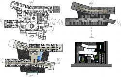 Hospital Building Plans Drawings