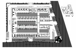 Hospital Design Plan CAD File