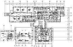 Hospital Floor Plan AutoCAD File