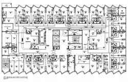 Hospital Medical Gas System Design AutoCAD Drawing Layout Plan