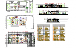 Hospital design plan architecture detail