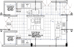Hospital kitchen layout plan dwg file
