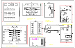 Hospital plan and Furniture Detail