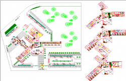 Hospital plant dwg file