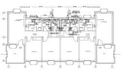 Hostel Design AutoCAD File Free Download