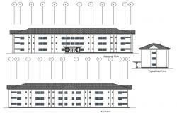 Hostel Design CAD File Download