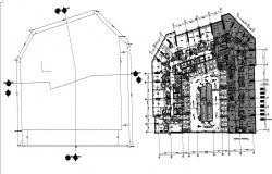 Hostel Floor Plans Design AutoCAD File