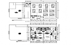 Hostel layout plan dwg file