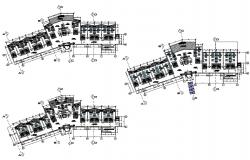 Hotel Bedroom Floor Plan AutoCAD File