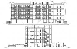Hotel Building CAD Drawing