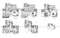 Hotel Designs and Plans Download CAD File