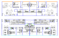 Hotel Plan Lay-out detail