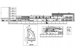 Hotel Room Section CAD file