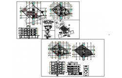 Hotel building and multi purpose.dwg