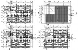Hotel ground floor plan CAD file download