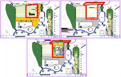 Hotel plan dwg file