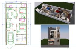 House (50' X 20')