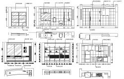 House AutoCAD Interior Design Drawings