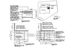 House Construction Blocks AutoCAD Drawing